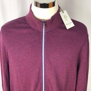 Robert Graham NWT full zip sweater XXL